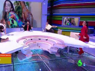 El último hit de Anitta convierte el plató en una sala de baile: así se mueven los zapeadores al ritmo de 'Loco'