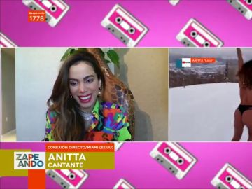"""La confesión de Anitta sobre su 'truco' en su último videoclip: """"Me puse muy borracha, tomé muchísimo alcohol"""""""