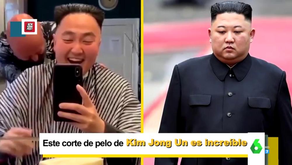 El divertido momento en el que un joven asiático se entera de que su peluquero le ha cortado el pelo como Kim Jong-un