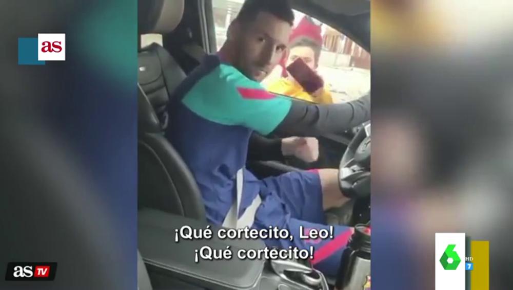 La divertida confesión de un fan a Leo Messi cuando se lo encuentra en un semáforo