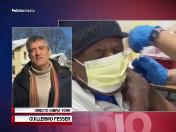 Guillermo Fesser desvela la dramática brecha racial con la vacuna en EEUU