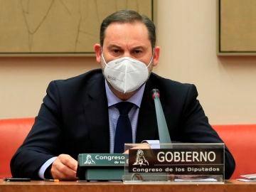 El ministro de Transportes, José Luis Ábalos, quien rechaza la propuesta de Podemos sobre la Ley de Vivienda
