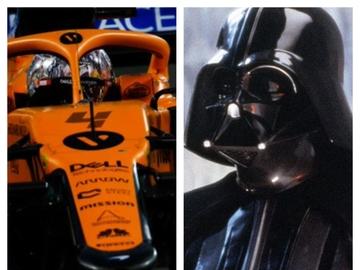 McLaren/Darth Vader