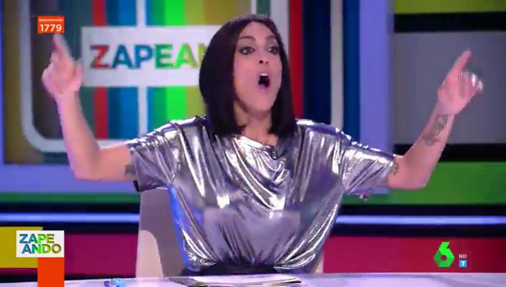 Lorena Castell cumple 40 años con una sorpresa de Cristina Pedroche en pleno directo de Zapeando