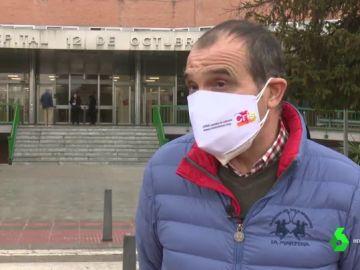 Miguel Ángel, paciente de COVID-19 y de cáncer