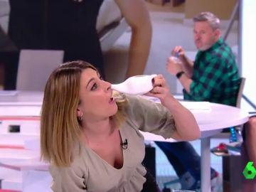 """El """"trauma"""" de Valeria Ros tras limpiarse la nariz con una tetera: """"¡No sabéis el horror que ha sido esto!"""""""