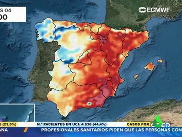 ¿Son habituales las temperaturas que estamos viviendo en España? Lo analizamos con este mapa