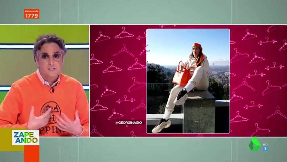 """Las proyecciones de Josie sobre la nueva línea de ropa de Georgina Rodríguez: """"Es un poco fuerte"""""""