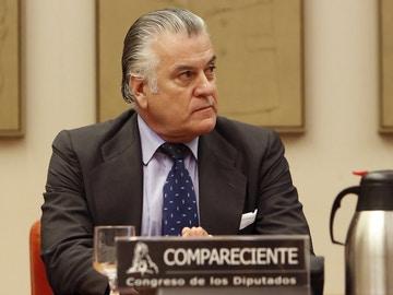 Imagen de archivo de Luis Bárcenas durante su comparecencia en la comisión de investigación de la supuesta financiación ilegal del PP