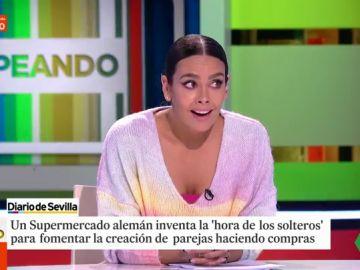 El rapapolvo de Cristina Pedroche a Miki Nadal tras afirmar que cualquier casado querría momentos de soltería