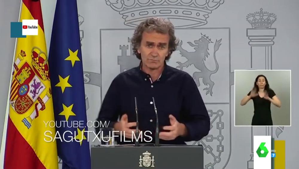 El vídeo viral de Fernando Simón 'cantando' el temazo de Junco que triunfa en TikTok