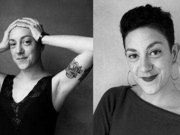 Aina Vidal en diferentes etapas del cáncer