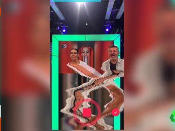 Miki Nadal y Cristina Pedroche en Zapeando