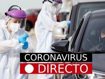 Imagen de archivo de pruebas de COVID