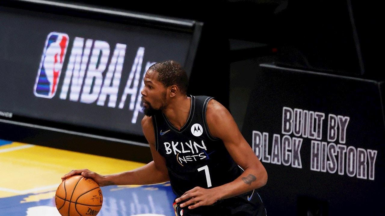 Kevin Durant, con los Nets