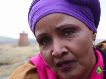Safi, víctima de mutilación genital femenina