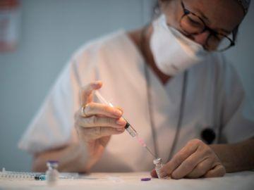 Imagen de archivo de una vacuna