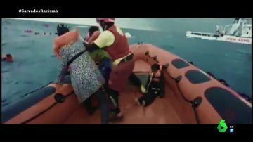 """La reacción de Iñaki Williams y Savané tras ver el """"desgarrador"""" llanto de una madre al buscar a su bebé muerto en un naufragio"""
