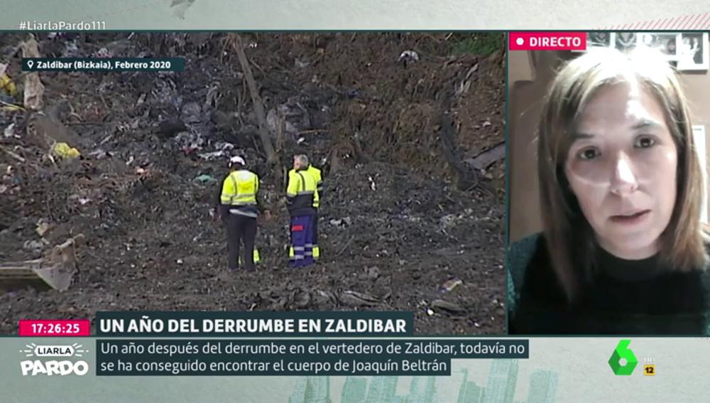 """Habla la familia de Joaquín Beltrán, desaparecido en Zaldibar: """"Necesitamos el compromiso de que no se sellará el vertedero"""""""