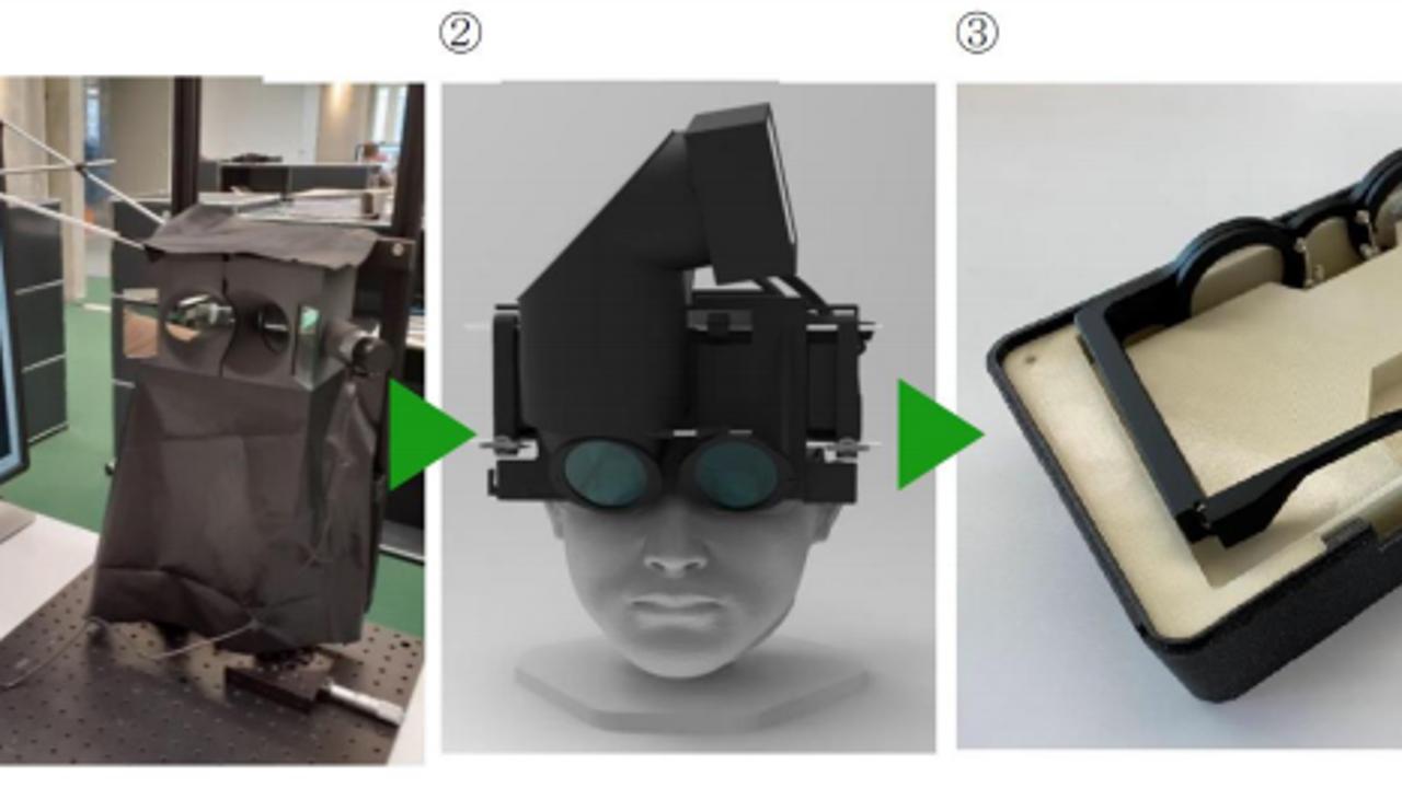 Las gafas de Kubota Vision que podría revertir la miopía