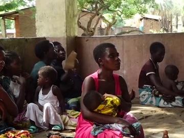 Imagen de mujeres con sus bebés en Sudáfrica