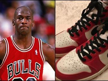 Michael Jordan y las zapatillas del millón de euros