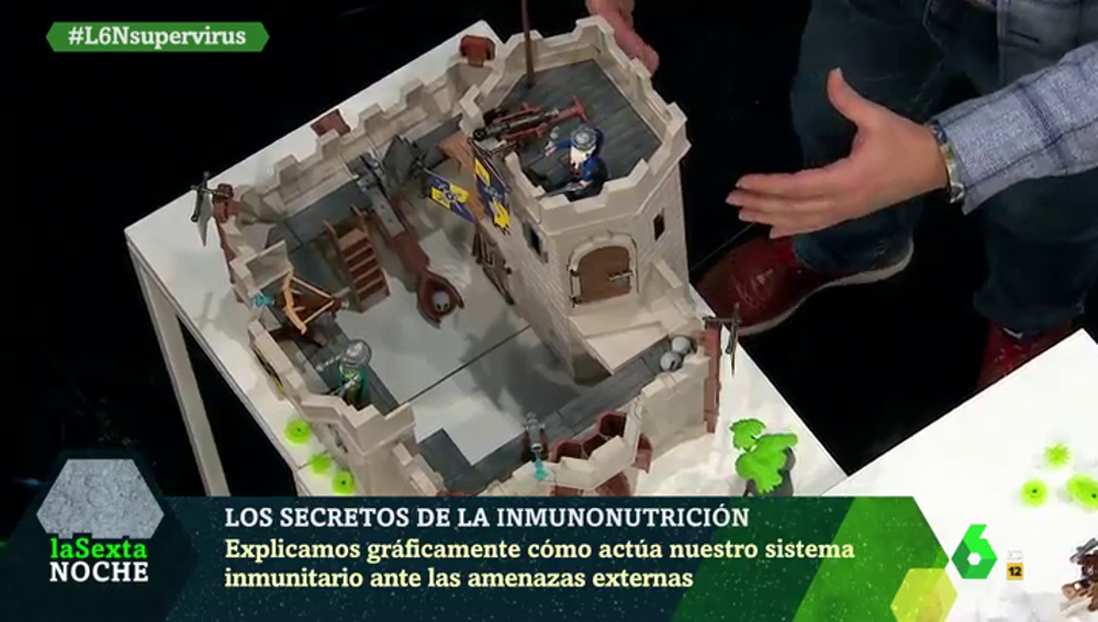 Imagen de un castillo de Playmobil