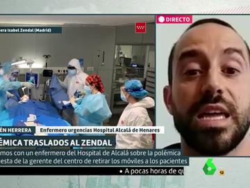 """El cabreo de un enfermero de urgencias: """"Nos acusa de boicot nuestra propia gerente y la presidenta de la Comunidad de Madrid"""""""