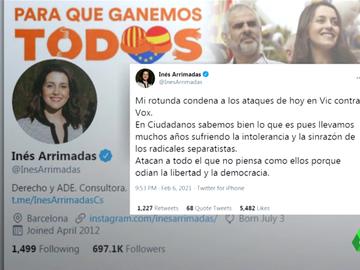 PP, Ciudadanos y PSC condenan el ataque a los candidatos de Vox en Vic que acabó con siete mossos heridos