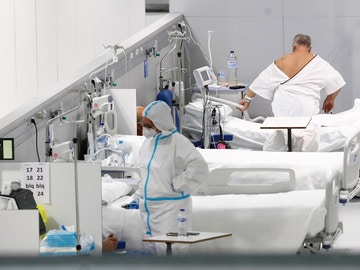 Imagen del hospital Zendal