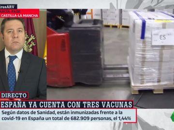 Emiliano García-Page en Al Rojo Vivo