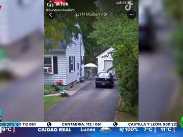 Descubre una fotografía de su abuela fallecida  en su antigua casa gracias a Google Street