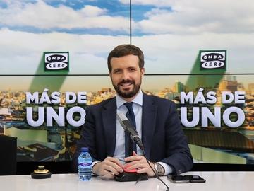 Pablo Casado, en Más de uno