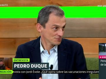 Pedro Duque en Liarla Pardo