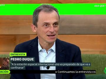 Pedro Duque confiesa qué es lo que más le ha sorprendido de la política desde que empezó a trabajar como político