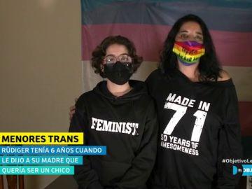 """El mensaje de Rüdiger, un adolescente trans: """"Les chiques trans estamos luchando y es muy necesario que aprueben la ley ya"""""""