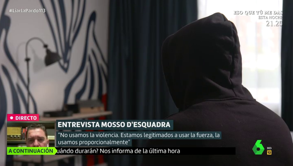"""El relato de un mosso sobre las protestas en Cataluña: """"¿A qué esperan los políticos, a que haya policías muertos?"""""""