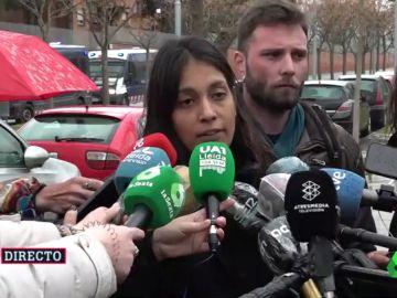 La abogada de Hasél, Alejandra Matamoros