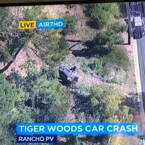 Accidente de Tiger Woods