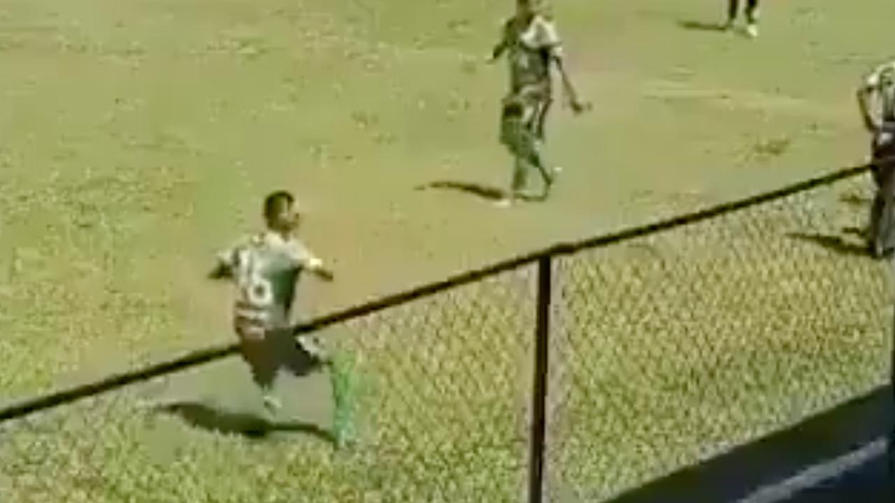Jugador de Batanecos finge una agresión