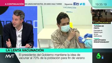 """El aviso del doctor Carballo ante las variantes del coronavirus: """"Nos tendremos que vacunar todos una segunda vez"""""""