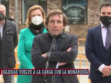 """Martínez-Almeida: """"La actitud de Iglesias frente al rey fue pueril. ¿Quién se cree que es?"""""""