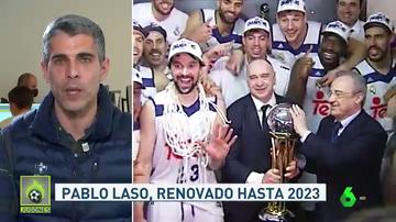 Noticia 'Jugones': Pablo Laso renueva con el Real Madrid