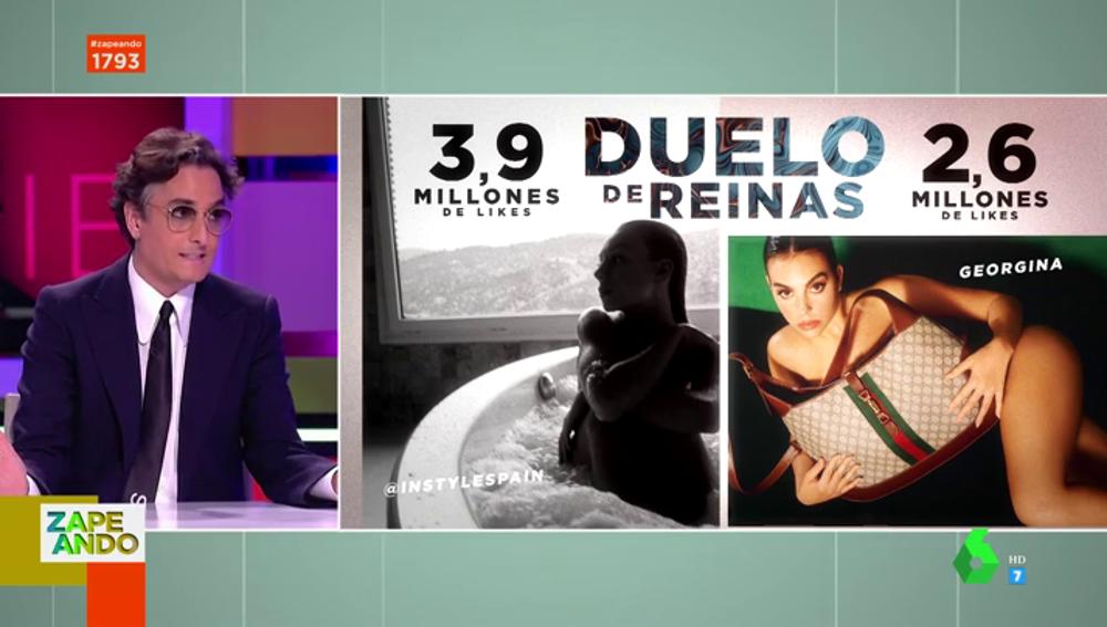 Josie decide el 'duelo de reinas' entre Ester Expósito y Georgina Rodríguez