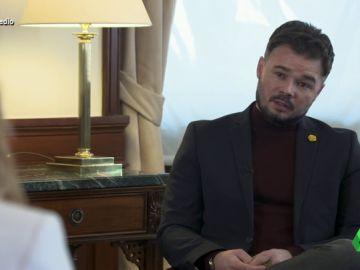 Gabriel Rufián en El Intermedio