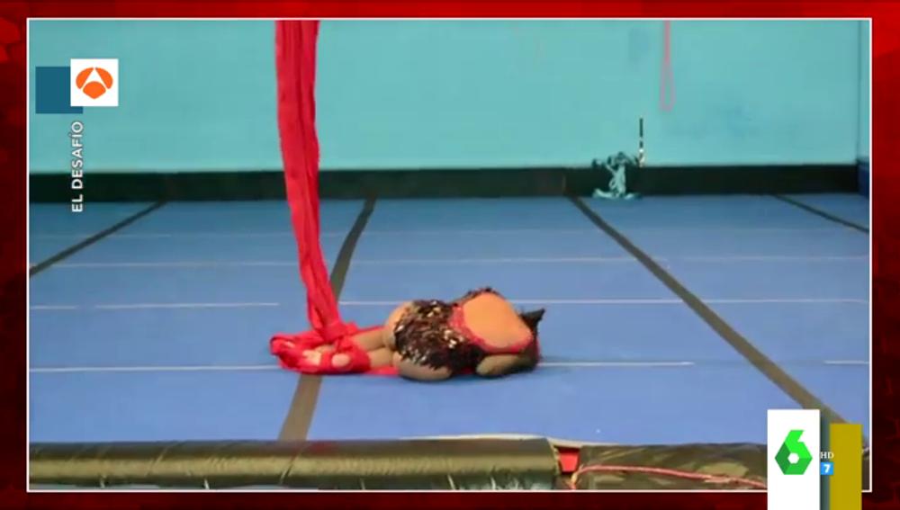 """Este fue el momento en el que Cristina Pedroche se lesiona al entrenar el reto de El Desafío: """""""