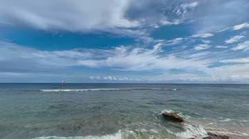 La zona en la que navegaba el hombre, entre Nueva Zelanda y las islas Pitcairn