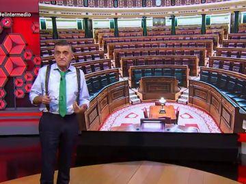 """Wyoming explica """"las estrategias políticas"""" que se esconden tras el acuerdo de PP, PSOE, UP y PNV"""