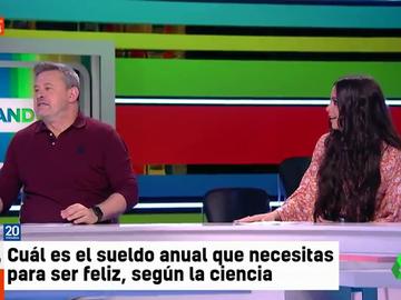 Cristina Pedroche, Lorena Castell y Miki Nadal debaten sobre el sueldo mensual necesario para ser feliz: