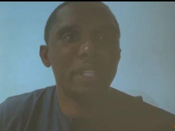 Samuel Eto'o, en el acto de Laporta